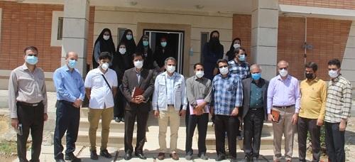 اردوی رسانه ای در کارخانه چادر مشکی حجاب شهرکرد